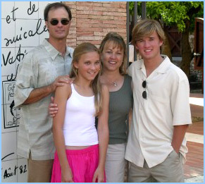 emily osment and family